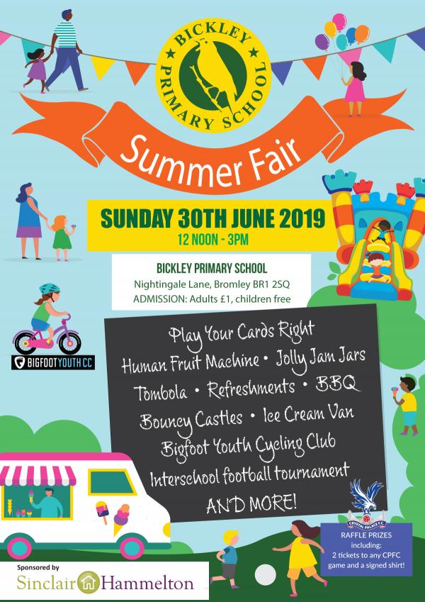 School fair poster