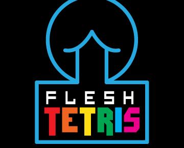 Flesh Tetris logo