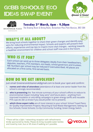 School's eco ideas event